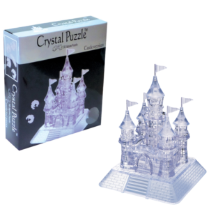 3D Crystal Puzzle Κάστρο Διαφανές
