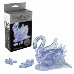 3D Crystal Puzzle Κύκνος Διαφανής